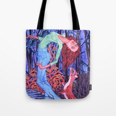 Midnight Dance with an Otter Tote Bag