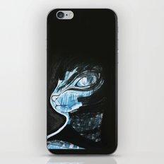 Cat Blue iPhone & iPod Skin