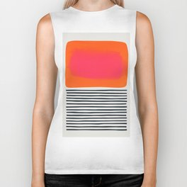 Sunset Ripples Biker Tank