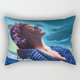 """The ultimate seduction of Mary"" Rectangular Pillow"