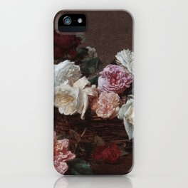 New Order - Power Corruption Lies iPhone Case