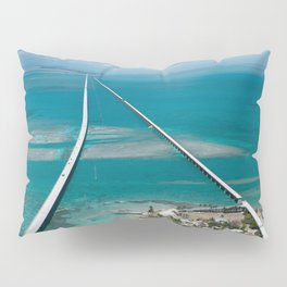 Road To Paradise Pillow Sham