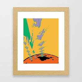 Sonic Invasion 3 Framed Art Print