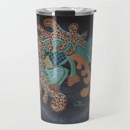 """Aztec (i)"" by ICA PAVON Travel Mug"