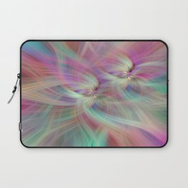 Rainbow Colored Abstract. Concept Divine Virtues Laptop Sleeve