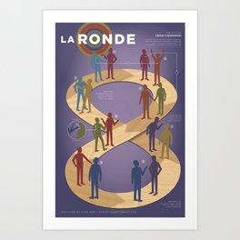 Improv Forms: La Ronde Art Print
