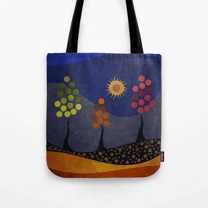 Paisaje y color Tote Bag