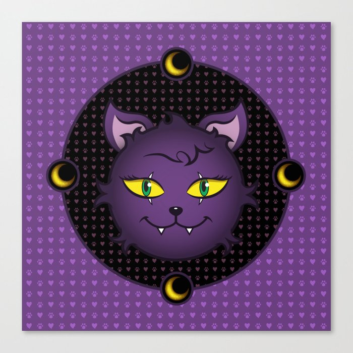 Crescent - Monster High Pet Canvas Print