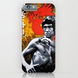 Bruce L e e  iPhone Case