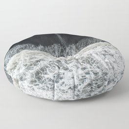 Mother Earth and her Child Floor Pillow