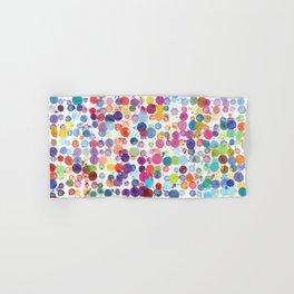 Watercolor Drops Hand & Bath Towel