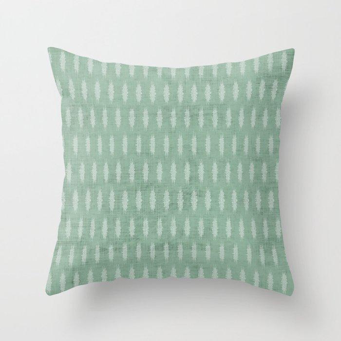 PETRA SAGE Throw Pillow
