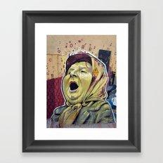 La matriarca Framed Art Print