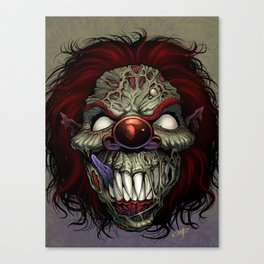 Who's Laughing Now Canvas Print