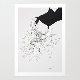 Lovely Vines Art Print
