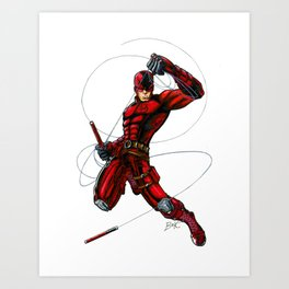 Hell's Kitchen's Devil Art Print