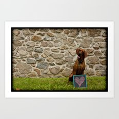 Dogs Are People Too Art Print