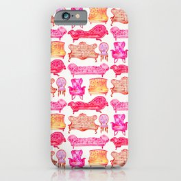 Victorian Lounge – Pink Palette iPhone Case