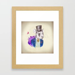 Hamster Framed Art Print