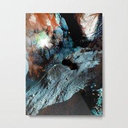 Uranium Beach Metal Print