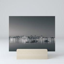 Porto in Black and White II Mini Art Print