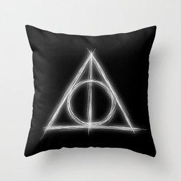 Deathly Throw Pillow