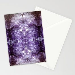 Reflected Amethyst Stationery Cards