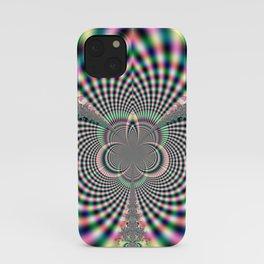 Fractal Flare iPhone Case