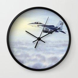 F-15 Eagle Aircraft Wall Clock