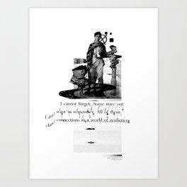 Tragics 03 - The Boy is a VCR Art Print