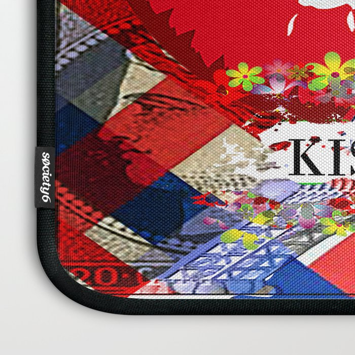 KISS FROM PARIS Laptop Sleeve
