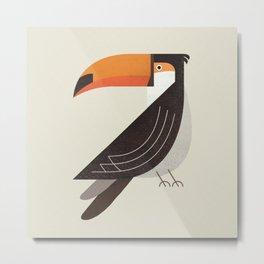 Whimsy Toucan Metal Print