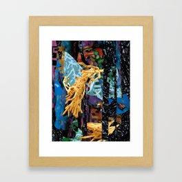 Surreal-Real Textures Framed Art Print