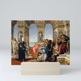 "Sandro Botticelli ""The Calumny of Apelles"" Mini Art Print"