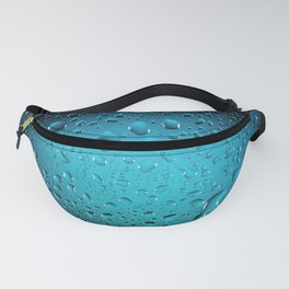 Stylish Cool Blue water drops Fanny Pack