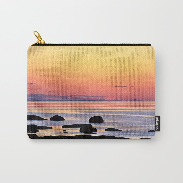 Yellow Skies of Summer Carry-All Pouch