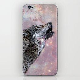 Howl at me iPhone Skin