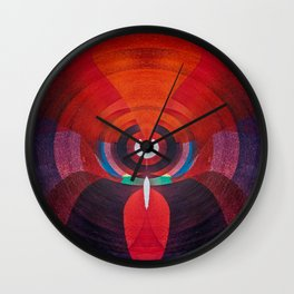 Meric Darker Color Wall Clock