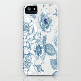 Blue Flower Anely iPhone Case