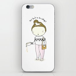 What s in your head? iPhone Skin