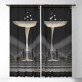 Art deco design VI Blackout Curtain