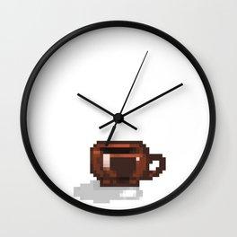 Bit of Coffee Wall Clock