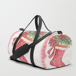Yuletide Stocking Duffle Bag