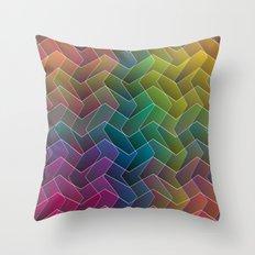 Zigzag & Zigzag 2 Throw Pillow
