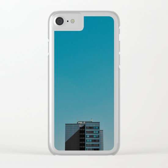 #95 Clear iPhone Case