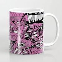 bubblegum Mugs featuring BubbleGum by DuckyB