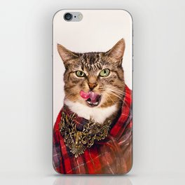 Vivienne Cat iPhone Skin