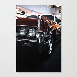 Car headlight 4 Canvas Print