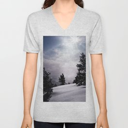 Winter Light Unisex V-Neck