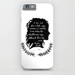 Audre Lorde Feminism iPhone Case